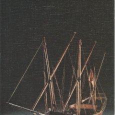 Postales: == PP148 - LAMINA - MUSEO NAVAL - MODELO DE JABEQUE - 23 X 16,5 CM.. Lote 53470558