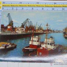 Postales: POSTAL DE BARCOS, PUERTOS. BARCO REMOLCADOR IMSUM Y HEMELIGEN EN BREMEN, ALEMANIA. 123. Lote 53945862