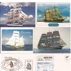 Postales: GOM-113_TARJETAS POSTALES GRAN REGATA 2000. Lote 54499402