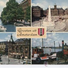 Postales: AMSTERDAM. BARCO. Lote 54520509