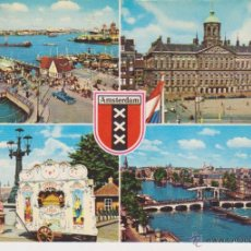 Postales: HOLANDA. AMSTERDAM. BARCO. Lote 54548792