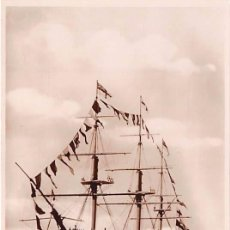 Postales: NELSON´S SHIP -VICTORY- FIRING A SALUTE. Lote 54736569