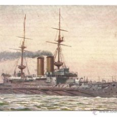 Postales: H.M.S. RUSSELL .- RAPHAEL TUCK & SONS .- OUR IRONCLADS SERIE III Nº 9083. Lote 54874393