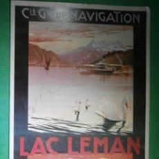 Postales: POSTAL - COMPAGNIE GENERALE DE NAVIGATION LAC LEMAN 1900 - MARIO BORGONI - BIREGG BDERLAG A.G.. Lote 54997575