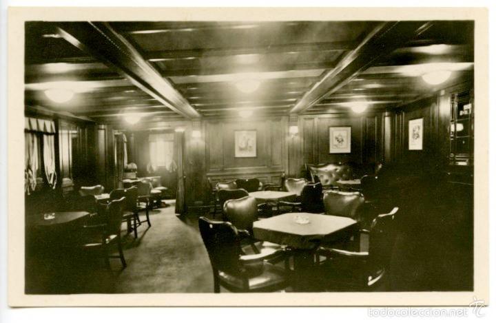 Postales: 4 tarjetas postales del buque Stuttgart II de la Norddeutscher Lloyd de Bremen, 1920s. Barcos - Foto 2 - 55700274