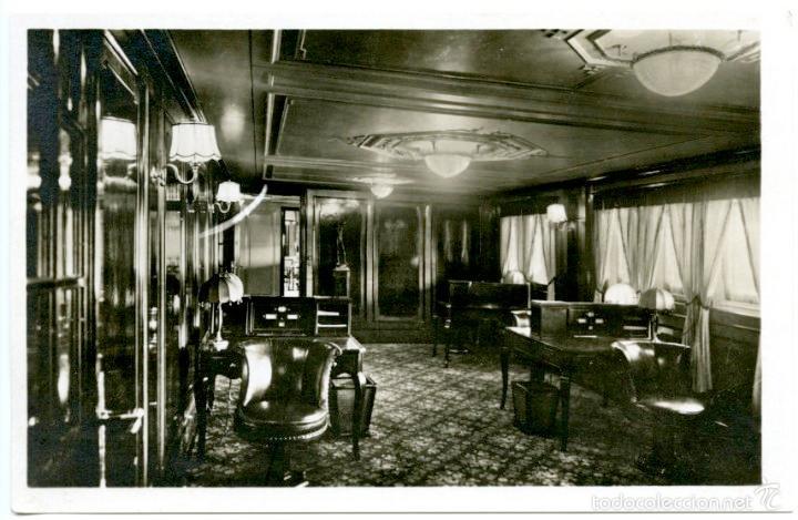 Postales: 4 tarjetas postales del buque Stuttgart II de la Norddeutscher Lloyd de Bremen, 1920s. Barcos - Foto 4 - 55700274