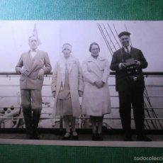 Postales: POSTAL - BARCO - CAP POLONIO - A BORDO DEL TRASANTLÁNTICO - AGIOSTO DE 1920 - FECHA EN REVERSO -. Lote 56391686