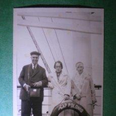 Postales: POSTAL - BARCO - CAP POLONIO - HAMBURG - A BORDO DEL TRASATLÁNTICO - FECHADA AGOSTO DE 1928 -. Lote 56392161