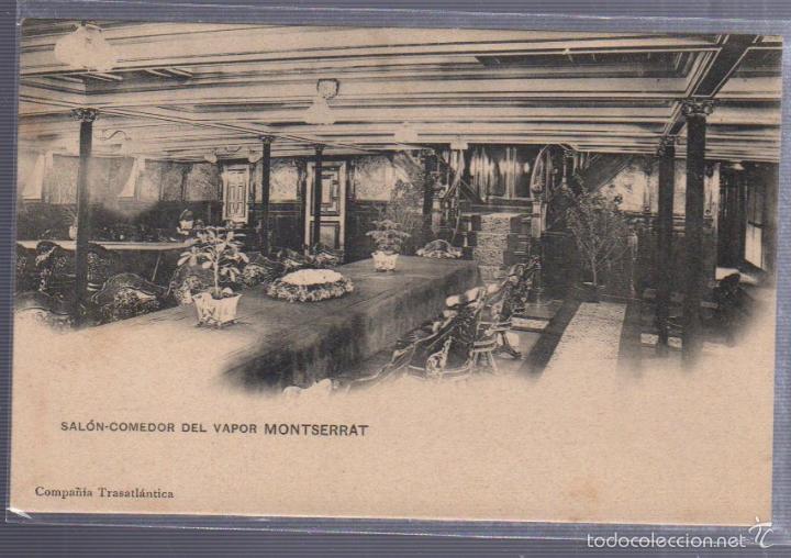 tarjeta postal de barco. salon comedor del vapo - Comprar Postales ...