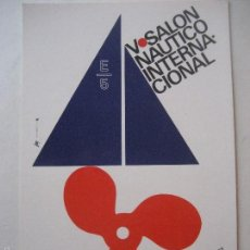 Postales: BARCELONA. V SALON NAUTICO INTERNACIONAL. 1967.. Lote 57687725