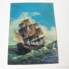 Postales: TARJETA POSTAL EN 32 DE UN BARCO VELERO O GALEON. Lote 57812180