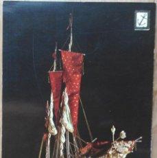 Postales: GALERA REAL DE FRANCIA - MUSEO NAVAL - BARCELONA. Lote 58512669