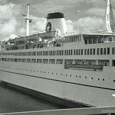Postales: NEGATIVO BARCO SS PATRICIA SWEDISH LLOYD SOUTHAMPTON 1966 KODAK 35 MM SHIP PHOTO FOTO. Lote 58608208