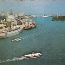 Postales: POSTAL, BARCOS, SINGAPUR-SINGAPORE, PUERTO, SIN CIRCULAR. Lote 61082851