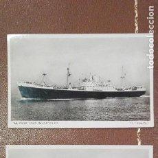 Postales: 2 POSTALES NUEVAS DEL BARCO S.S. KENUTA. Lote 61939900