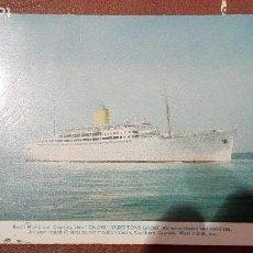 Postales: POSTAL DEL BARCO ROYAL MAIL LINES CRUISING SHIP ANDES. Lote 61940028