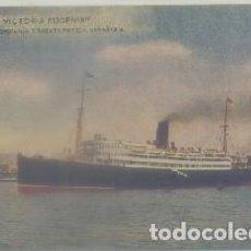 Postales: POSTAL DE BARCO: REINA VICTORIA EUGENIA P-BAR-522,2. Lote 64666279