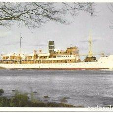 Postales: BARCO S/S WELLAMO - HELSINKI - CIRCULADA - 1957. Lote 65972294