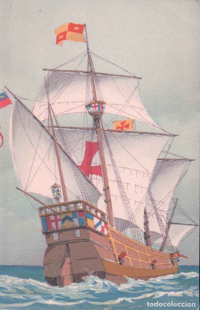POSTAL ANTIGUA DIBUJO BARCO. M BARRE & J DAYEZ (Postales - Postales Temáticas - Barcos)