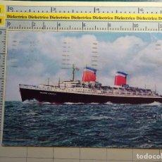 Postales: POSTAL DE BARCOS NAVIERAS. AÑO 1968. BARCO BUQUE TRASATLÁNTICO SS UNITED STATES. 908. Lote 68471025