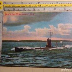 Postales: POSTAL DE BARCOS NAVIERAS. AÑO 1998. SUBMARINO ALEMÁN UBOOT U9. ALEMANIA. 563. Lote 69426709