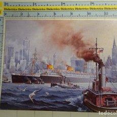 Postales: POSTAL DE BARCOS NAVIERAS. AÑO 1988. BUQUE BARCO EUROPA DE NORDEUTSCHER LLOYD, ALEMANIA. 599. Lote 69428713