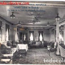 Postales: COMPAÑIA TRASATLANTICA ESPAÑOLA.- INFANTA ISABEL DE BORBÓN. Lote 69958901