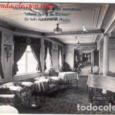 Postales: COMPAÑIA TRASATLANTICA ESPAÑOLA.- INFANTA ISABEL DE BORBÓN. Lote 69959549