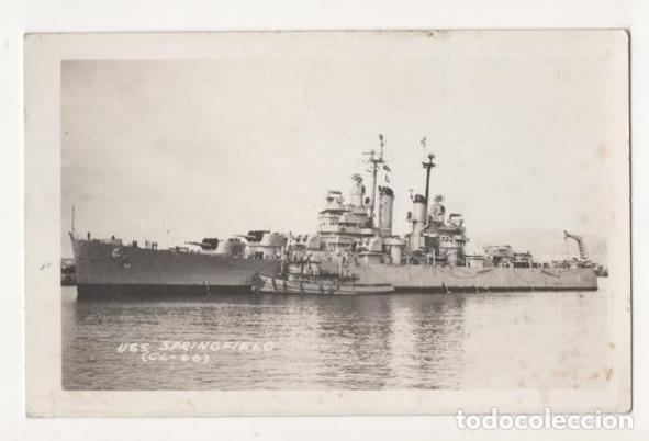 (ALB-TC-5) POSTAL BARCO USS SPRINGFIELD (CL-66) NUEVA (Postales - Postales Temáticas - Barcos)