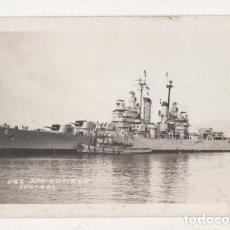 Postales: (ALB-TC-5) POSTAL BARCO USS SPRINGFIELD (CL-66) NUEVA. Lote 70269221
