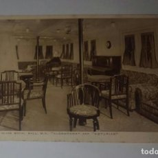 Postales: ALCANTARA AND ASTURIAS SECOND CLASS SOCIAL HALL M.V.. Lote 70507705