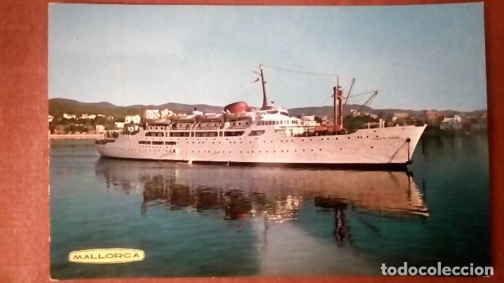 POSTAL BUQUE CIUDAD DE BURGOS - MALLORCA (Postales - Postales Temáticas - Barcos)