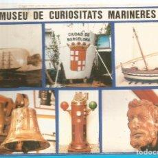 Postales: PAQUETE ACORDEON DE POSTAL - POSTALES MUSEU DE CURIOSITATS MARINERES DE VILANOVA I LA GELTRU.. Lote 73564739