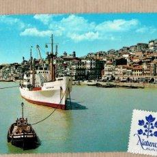 Postales: POSTAL PORTO - RIO DOURO - DUERO - BARCO - ESCRITA CON SELLO.. Lote 73694807