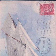 Postales: POSTAL COLLECTION DE LA LIGUE MARITIME ET COLONIALES - BARCO - CIRCULADA. Lote 75129383