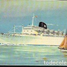 Cartes Postales: POSTAL * BARCO CABO SAN ROQUE - CABO SAN VICENTE * 1959. Lote 208255837