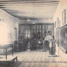 Postales: ESCUELA NAVAL MILITAR.- CLASE DE NAVEGACIÓN. Lote 78831121