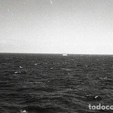 Postales: NEGATIVO BARCO SS PATRICIA SWEDISH LLOYD VISTAS MAR 1966 KODAK 35MM PHOTO SHIP FOTO. Lote 79014681