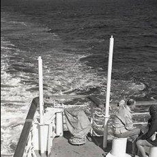 Postales: NEGATIVO BARCO SS PATRICIA SWEDISH LLOYD CUBIERTA 1966 KODAK 35MM PHOTO SHIP FOTO. Lote 79015333