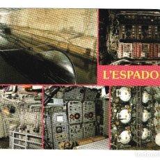 Postales: SUBMARINO L'ESPADON PUERTO DE ST NAZAIRE FRANCIA. Lote 79803837