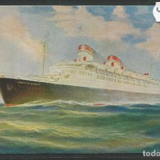 Postales: POSTAL BARCO CONTE DE SAVOIA -VER REVERSO -(46.969). Lote 80016341