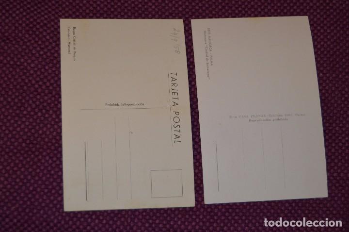 Postales: ANTIGUAS POSTALES - BARCOS CIUDAD DE BURGOS Y BARCELONA - VINTAGE - ORIGINAL - SIN CIRCULAR - Foto 2 - 80138673