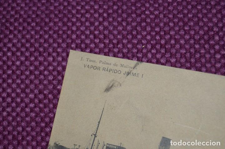 Postales: ANTIGUA POSTAL - CIRCULADA 1912 - VAPOR RAPIDO JAIME I - VINTAGE - ANTIGUA Y ORIGINAL - Foto 2 - 80140337