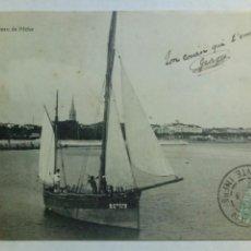Postales: POSTAL FRANCIA 1903 BARCO DE PESCA. Lote 80527225