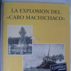 Postales: PUBLICACION CON 16 POSTALES DE LA EXPLOSION DEL BARCO CABO MACHICHACO Y HOJA CENTRAL, 1993.. Lote 82070088