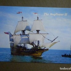 Postales: POSTAL - BARCOS - BARCO - THE MAYFLOWER II - PLYMOUTH MASSACHUSETTS - BROMLEY & COMPANY - NE - NC. Lote 84719412