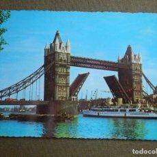 Postales: POSTAL - BARCOS - BARCO - TOWER BRIDGE - LONDON - NE - NC. Lote 84777940