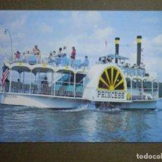 Postales: POSTAL - BARCOS - BARCO - SIDE WHEELER PRINCESS - CRUISING ON KENTUKY LAKE - ESCRITA. Lote 84778132