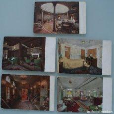 Postales: ANTIGUAS POSTALES COMPAÑÍA NAVIERA FLOTA LLOYD TRIESTINO ITALIA: BARCO ESPERIA – AÑOS 30 . Lote 86226968