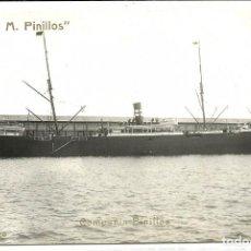 Postales: (PS-52065)POSTAL FOTOGRAFICA MIGUEL M.PINILLOS - COMPAÑIA PINILLOS - REFINO CHICO. Lote 87069888